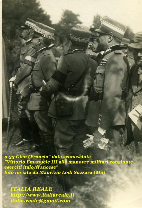 Vittorio Emanuele III a Gien
