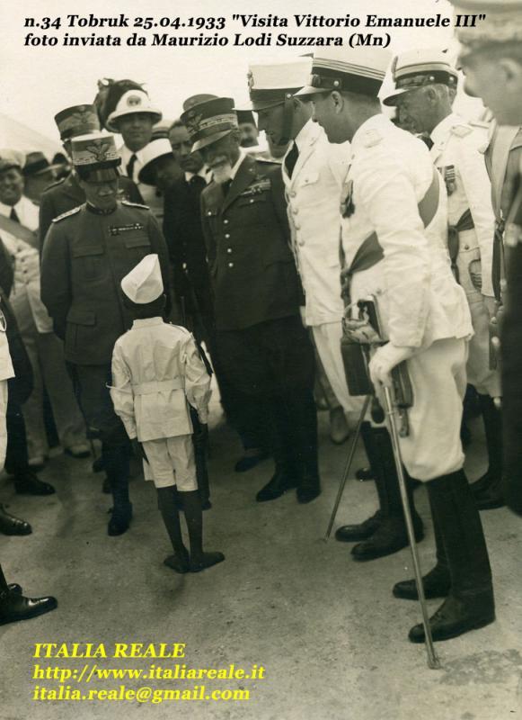 Vittorio Emanuele III in Libia
