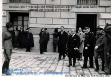 I Sovrani di Belgio partono da Genova per le Indie orientali