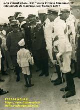 Vittorio Emanuele III a Tobruk