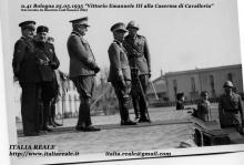Vittorio Emanuele II alla Caserma di Cavalleria di Bologna