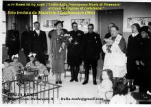 Maria José visita il Centro di Igiene di Colleferro (Roma)