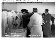 Principi di Piemonte inaugurano la maternità dell'Ospedale degli Incurabili